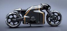 Motorrad: Lotus C-01 ist halb Retro, halb Tron