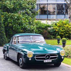 Mercedes Benz #190SL. Pic credit: edouardphotography (instagram) / #BruceAdams190SL #190SLRestorations