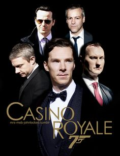 Sherlock Bond<<<<> I'd rather see Sherlock and bond work together. That would be an epic movie!!!!