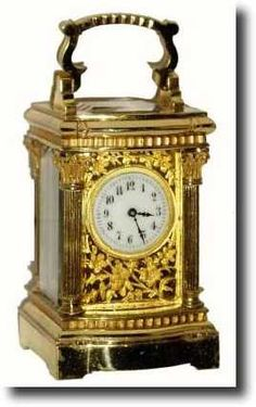 Antique Carriage Clock Unsigned
