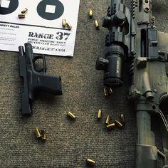 Bag full of guns