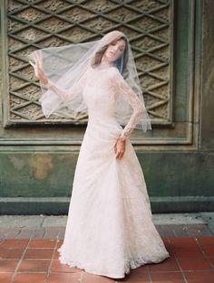 Sareh Nouri Fall 2014 Collection. www.theweddingnotebook.com