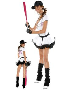 LOVE THIS!!!!  Sexy Fantasy League Baseball Player | Cheap Sports Halloween Costume for Sexy Costumes