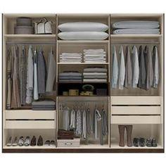 Kast indeling walk through closet Wardrobe Organisation, Wardrobe Storage, Wardrobe Doors, Wardrobe Closet, Built In Wardrobe, Closet Space, Bedroom Organization, Master Bedroom Closet, Bedroom Wardrobe