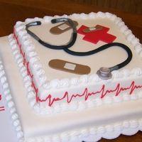 Nurses week cake