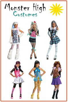 Monster High costumes...