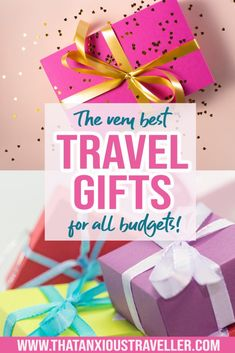Looking for travel gifts for friends, for women, or for men? Searching for the perfect presents for travellers? Get the very best ideas for travel gifts here, with 47 gift inspirations! Whether you're looking for her, for him, for stocking fillers, or for travel gifts under $20, you'll find it here! #travelgifts #travel #gifts #ideas Packing Tips For Travel, Travel Advice, Travel Essentials, Packing Lists, Europe Packing, Traveling Europe, Backpacking Europe, Travelling Tips, Travel Info