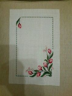 This Pin was discovered by HUZ Cross Stitch Art, Cross Stitch Borders, Cross Stitch Alphabet, Cross Stitch Flowers, Cross Stitch Designs, Cross Stitching, Cross Stitch Embroidery, Hand Embroidery, Cross Stitch Patterns