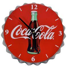 Mark Feldstein Coca Cola Bottle Cap Clock