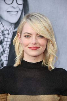 Emma Stone at the AFI Life Achievement Award Gala - June 2017 Hollywood Glamour Hair, Emma Stone Makeup, Ema Stone, Actress Emma Stone, Corte Y Color, Great Hair, Belle Photo, Hair Goals, Hair Inspiration