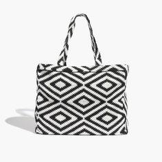 Madewell et Sézane® Woven Tote Bag : madewell et sézane   Madewell