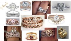 stacked engagement rings