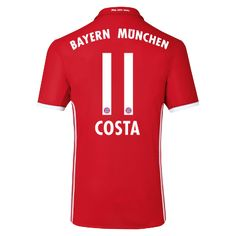 FC Bayern Trikot Home Costa Kids 2016/17 - Offizieller FC Bayern Fanshop