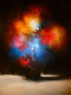 Large+Canvas+Abstract+Painting+by+Artist+by+SimonkennysPaintings