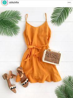 Love this dress & sandals!!