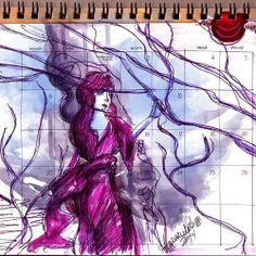 sketch in calendar - www.homemquevoa.com - Marcelo Bittencourt