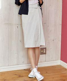 骨格診断 ストレートのスカートの選び方 | REAL CLOTHES Real Clothes, Shirt Dress, T Shirt, Skirts, Pants, Dresses, Style, Fashion, Supreme T Shirt
