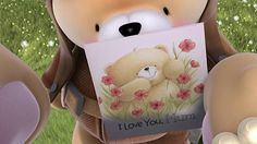 I love me mom I Love You Mum, Cute Bears, Mother And Father, Feeling Happy, Friends Forever, Fathers Day, Cool Pictures, Teddy Bears, Collection