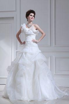 Wedding Dresses,One Shoulder Wedding Dresses