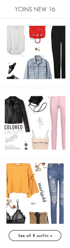 """""""YOINS NEW 16"""" by s-thinks ❤ liked on Polyvore featuring Gap, Hermès, ootd, yoins, yoinscollection, loveyoins, Just Cavalli, Christian Dior, MANGO and Anine Bing"""