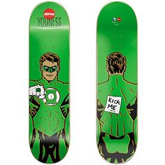 Almost 10023605 New Pro-Green Lantern Skateboard Deck - http://shop.dailyskatetube.com/product/almost-10023605-new-pro-green-lantern-skateboard-deck/ -  Virtually Skateboards are top of the range skateboards, designed for the complicated skaters in mind in order that they'll their push skate tricks abilities to the following level.  Youness Inexperienced Lantern 8 inches wide, 31.6 inches long 14-inch Wheelbase 7-ply North American Hardrock ... -