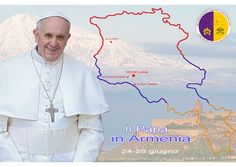 """""""Como siervo del Evangelio y mensajero de paz"""": así llega el Papa a Armenia - Radio Vaticano"""