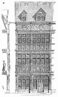 151 meilleures images du tableau rouen ancien en 2019 postcards normandie et normandy. Black Bedroom Furniture Sets. Home Design Ideas