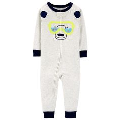 With just one zip, he's ready for bed in no time! Carter's cotton PJs are not flame resistant. But don't worry! They're designed with a snug and stretchy fit for safety and comfort. Toddler Outfits, Kids Outfits, Toddler Fashion, Carters Baby Boys, Cotton Pyjamas, Kids Pajamas, Baby Clothes Shops, Trendy Plus Size