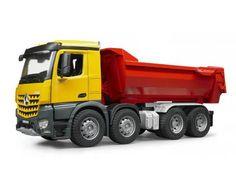 MB Arocs Halfpipe dump truck 1:16 Dit artikel is compatibel met de figuurtjes van B World.
