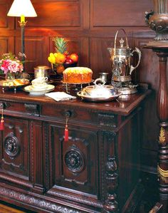 Afternoon tea is served daily at Apalachicola's Coombs House Inn.