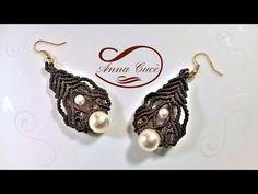 "Tutorial macrame earrings "" Sharyl "" / Diy tutorial - YouTube"
