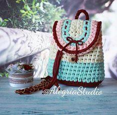 Bagpack crochet