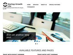 Bootstrap Clean Blog - Drupal