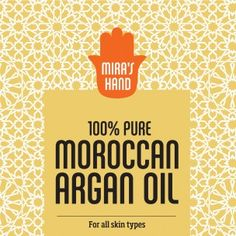 100% pure Moroccan organic Argan Oil
