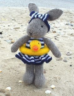 A very Florida Easter Bunny! #destinationstitch #knit #patterns