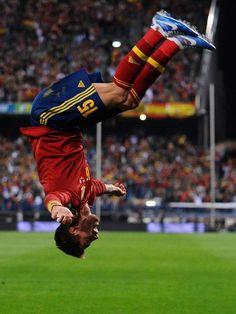 Sergio Ramos , Spain v France - FIFA 2014 World Cup Qualifier .