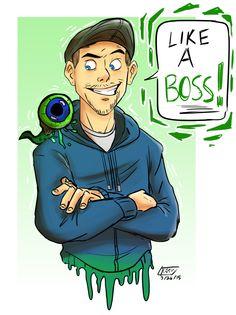 Jacksepticeye! Irish YouTuber SUPER ENERGETIC SPEED IS KEEEYYYY
