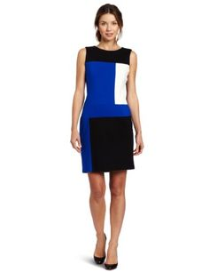 Vince Camuto Women's Colorblock Sheath Dress, Emperor Blue, 8 Vince Camuto,http://www.amazon.com/dp/B00816HLAC/ref=cm_sw_r_pi_dp_iNhNsb03HF724HNV