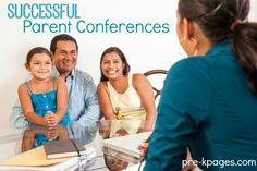 Successful Parent Conferences in Preschool and Kindergarten
