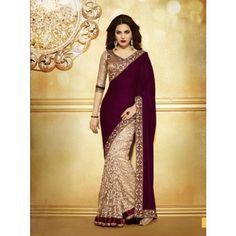 Fancy Designer Saree with Light Work