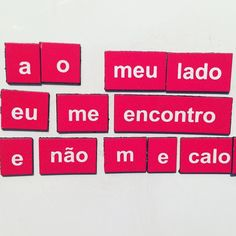 2glue: Série Poesia de Geladeira  #2glue #poesiadegelafeira #imã #magnet #magneto #magnets  #streetart #streetarteverywhere  #artederua #urbex #lambelambe #stencil #paredesurbanas #urbanart #urbanartist #streetartsp #instapic #instagram #instalove #instamood #contemporaryart #weio #minhapretateresa #imadegeladeira #fridgemagnet #poem #poetry #poesia #poeta #poet by weio