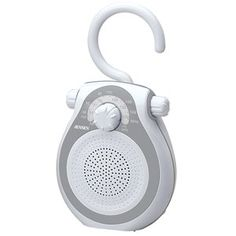 NEW AM/FM shower radio (Audio/Video/Electronics) by Spectra Merchandising. $18.00. - Splash resistant cabinet- Waterproof mylar speaker- Ideal for a night stand, garage or study- Hook handle - hangs from shower head or curtain rod- Built-in AM/FM antennasJENJWM120
