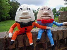 humpty dumpty knit toys