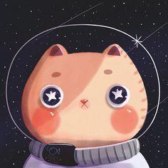 Cat Astro on Behance
