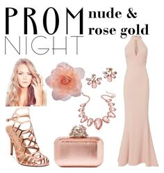 Designer Clothes, Shoes & Bags for Women Gold Color Scheme, Color Schemes, Rose Gold Color, Thalia, Marchesa, Jimmy Choo, Nude, Prom, Shoe Bag