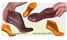 Колодки для обуви - 3D CAD разработка и проектирование новых фасонов обувных колодок. Процесс разработки полностью в 3D CAD - не требует предварительной оцифровки физических колодок.