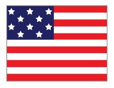 American Flag Writing Paper | Printable Stationary ...