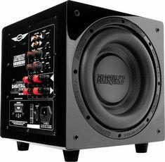 Hi-Fi Audio In Style for Home Entertainment Diy Amplifier, Audiophile Speakers, Diy Speakers, Hifi Audio, Hifi Stereo, Tower Speakers, Subwoofer Speaker, Powered Subwoofer, Subwoofer Box Design