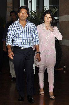 Photos : Sachin Tendulkar With Anjali Tendulkar & Aamir Khan   'Real Heroes Awards ~ Sachin Tendulkar at Ambanis host party in honour of Mumbai