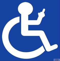 handicap sign - Google Search